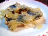 Sarde in saor (marinate)
